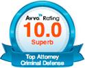 AVVO Top Attorney: Criminal Defense
